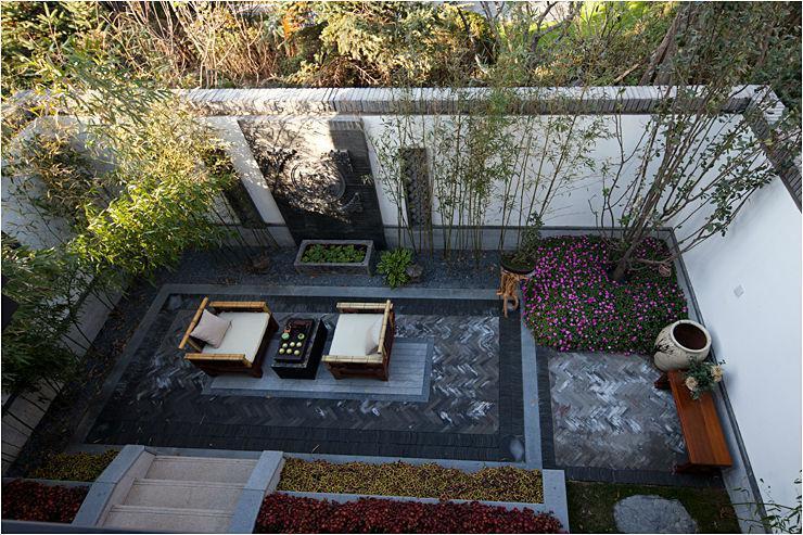 中式庭院景观设计元素_中式庭院景观设计说明_新中式庭院设计